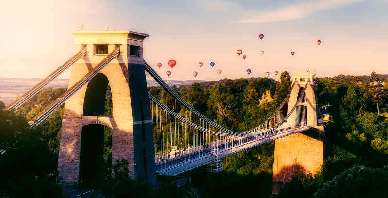 Bristol suspension bridge