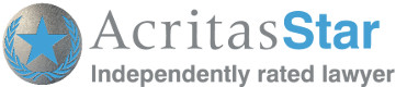 Acritas Star Lawyer Accreditation Logo - Commercial Lawyer in Watford