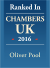 Chambers & Parthers Ranked Lawyer - Oliver Pool 2016