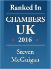 Steven McGuigan - Chambers & Partners ranked Commercial Property Solicitor in Bristol logo