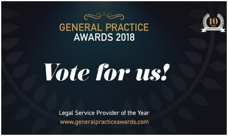 Vote For Us - GP Awards 'Legal Service Provider of the ...