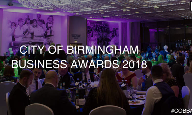 Help Us Win the City of Birmingham Business Awards