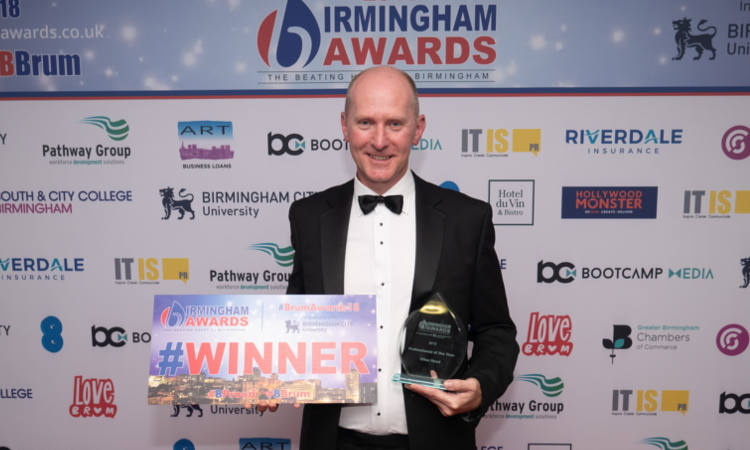Clive Read Birmingham Awards 2018