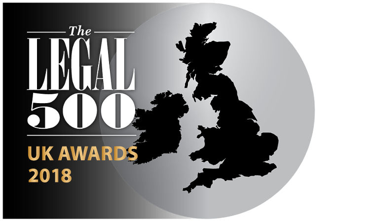 Legal500 uk awards 2018 750x450