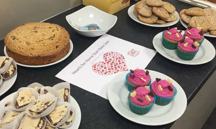 VWV's Watford Office Shares the Love with Local Charity