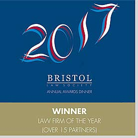 Bristol Law Society - Law Firm of the Year