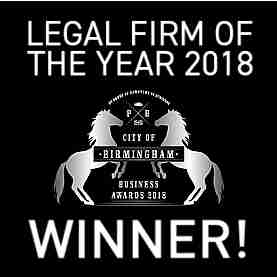 Birmingham - Legal Firm of the Year 2018