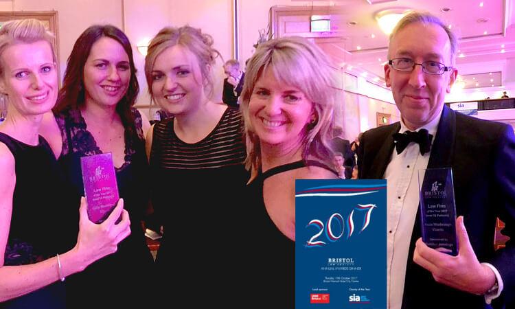 Bristol Law Society's Bristol Law Firm of The Year Award 2017