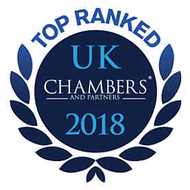 VWV Solicitors Top Ranked Law Firm in Chambers & Partners 2018
