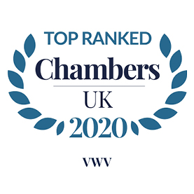 Chambers & Partners 2020 - Top Ranked Law Firm