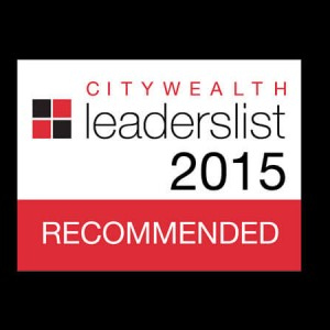 Citywealth Leaderlist 2015