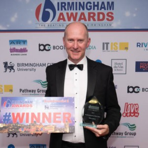 VWV Partner Clive Read Wins 'Professional of the Year' at the Birmingham Awards 2018