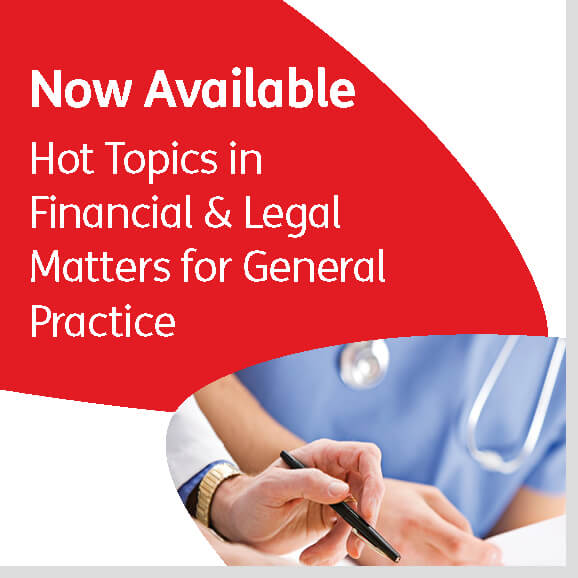 Hot Topics in Financial & Legal Matters for General Practice - VWV
