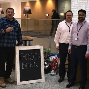 VWV Joins Forces with Local Businesses to Donate to Watford Foodbank