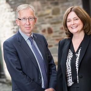 Kathy Halliday and Simon Heald
