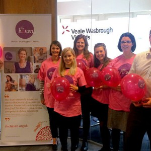 VWV Nominates Breast Cancer Haven, London as its London office Charity of the Year