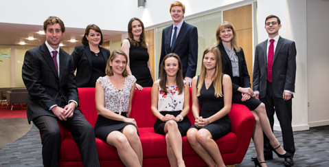 Trainee Careers at VWV Law Firm - photo of trainee solicitors