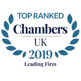 Chambers & Partners 2019 - Top Ranked Law Firm
