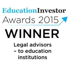VWV Solicitors - Education Investor Awards - Legal Advisors to Education Institutions 2017