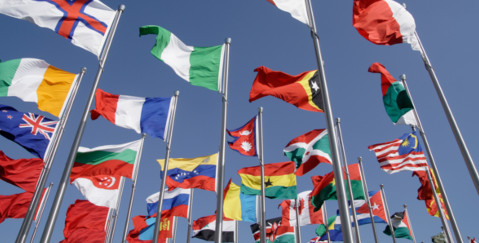 Bribery Act Lawyers - national flags photo